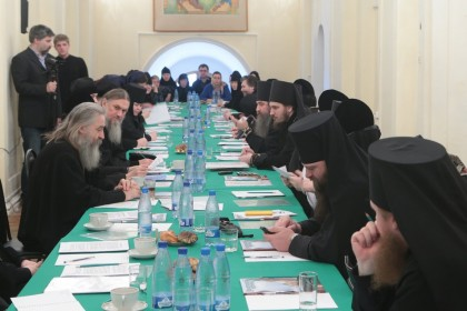В Свято-Троицкой Сергиевой лавре состоялось совещание наместников и игумений ставропигиальных монастырей