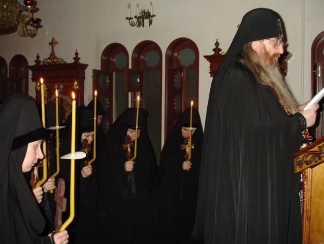 Монашество-уподобление Христу.Об отречении от мира