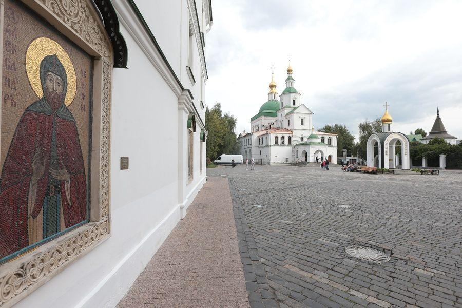 Святыни Данилова монастыря