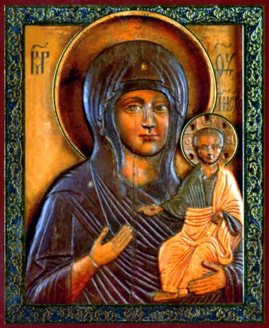Икона Божией Матери «Влахернская» / Монастырский вестник