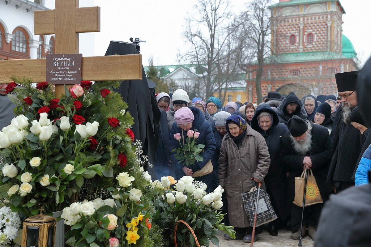 Предстоятель УПЦ призвал жить по Евангелию. Памяти отца Кирилла (Павлова)