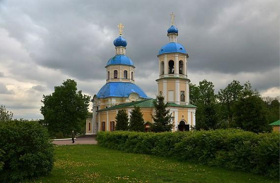 Введенский храм оптиной водонапорная башня